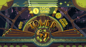 Tower 57 - Main Menu - Animated Mockup by Cyangmou