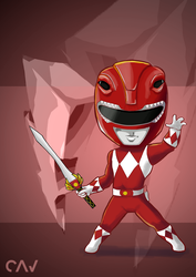 Red Ranger by RafaelCavalcanti