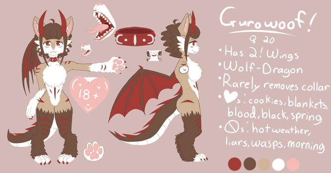 GUROWOOF Ref (SFW) by gurowoof