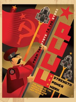 SOLAR THEATRE Russian Poster by PaulSizer