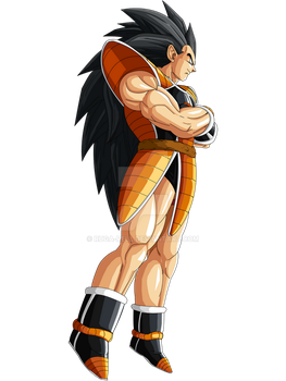 Raditz U-13 Colored by ruga-rell