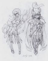 OC - Honus (Left) Valeria (Right) by snoop19922002
