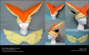 Victini cosplay set