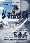 ktown sk8session '04 flyer by peak7