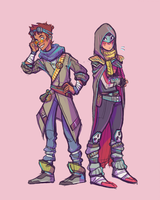 Fashionable bfs by Lavender-Dreamer