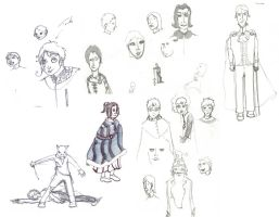 Hp Sketches by jlpicard1701e