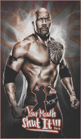 The Rock Graphic by TheElectrifyingOneHD