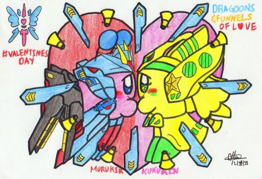 Dragoons and Funnels of Love by murumokirby360