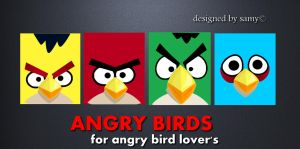 Angry Birds Lover Wallpapers by usamakm
