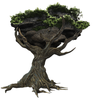 Fantasy Tree png by mysticmorning