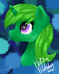Bday Lime by SpokenMind93