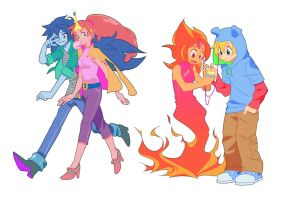 Modern Adventure Time by Sapphire1010