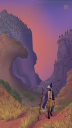 Ogion in the Valley of Yaved by Wolfberry-J