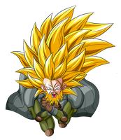 Trunks SSJ3 by lssj2