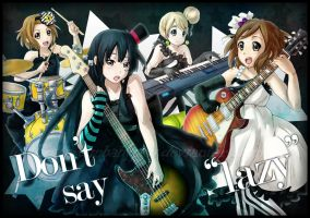 K-on: Don't Say Lazy by ButtercupBabyPPG