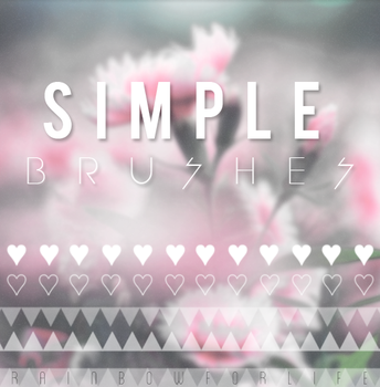 Simple Brushes by raibowforlife