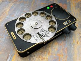 Steampunk Phone by TMC-Deluxe