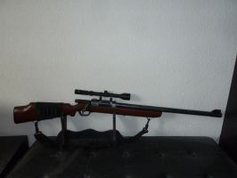 Buzz Bee Hunter / Nerf-ish RSCB Bolt-Action Rifle by hoellenhamster