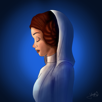 Princess Leia by jpbijos