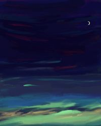 Cloudy Evening by monking