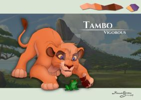 Tambo - Cub version character sheet by R-FakonWolf