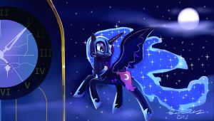 The night will last forever by Incinerater
