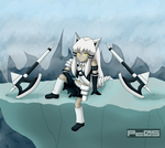 White Wolf Huntress is getting a relax mode by Pichu-Chan05