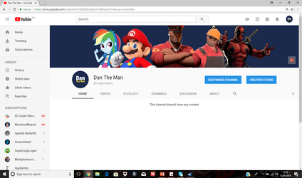 welcome to my You tube channel by DANIOTHEMAN