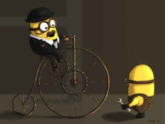 Minions Archaic by gusdefrog