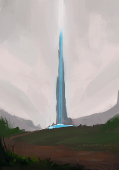 Tower of Light by MFFchaos
