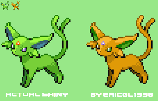 My version of Shiny Espeon by ericgl1996