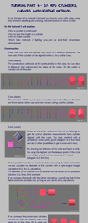 Pixel Art Tutorial 4 - 3/4 cylinders and cuboids by Cyangmou