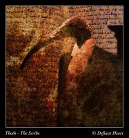Thoth - The Scribe by DefiantHeart