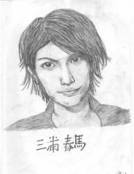 Miura Haruma (scanned version) by evalia-scifilullaby