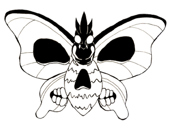 Venomoth by apple-123