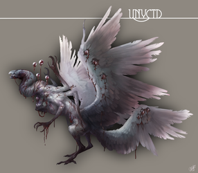 The Vulture God - Unyctd by squidina