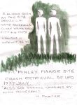 Beings Minley Manor - July 1977 by MyAlienAbductionArt