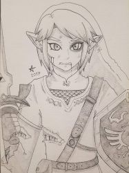 [ Repost ] Link our hero ! by Amaroq-Ama