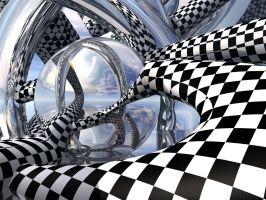 Checkers and Mirrors by docx