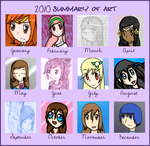 2010 Art Summary by Icey-chan