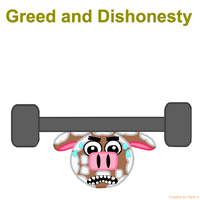 RBT S6 Ep. 3 Greed and Dishonesty Title Card by Mario1998