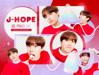 PNG PACK: J-Hope #6 by Hallyumi