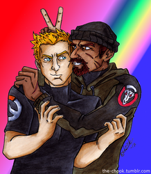 Jack n Gabe by the-ChooK