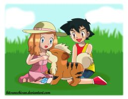 Amourshipping: Childhood Memory by KitsuneChiSan