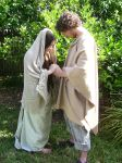 Mary and Joseph 1 by SophStock