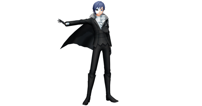 Project Diva X Ivy Phantom Kaito by WeFede