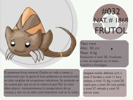 Pokemon Oryu 032 Frutol