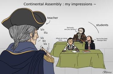 Continental Assembly by Blorosa