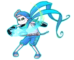 Blublu (bless!sans) by Kaweii
