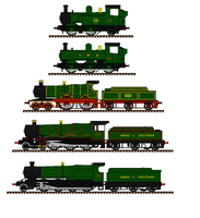 Great Western Steam Locomotives by Andrewk4